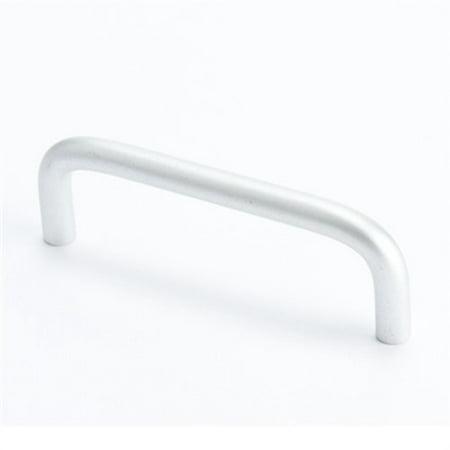 Wire Free Satin - Berenson 6137-4sal 96mm Ctr Wire Pull Zurich Satin Aluminum