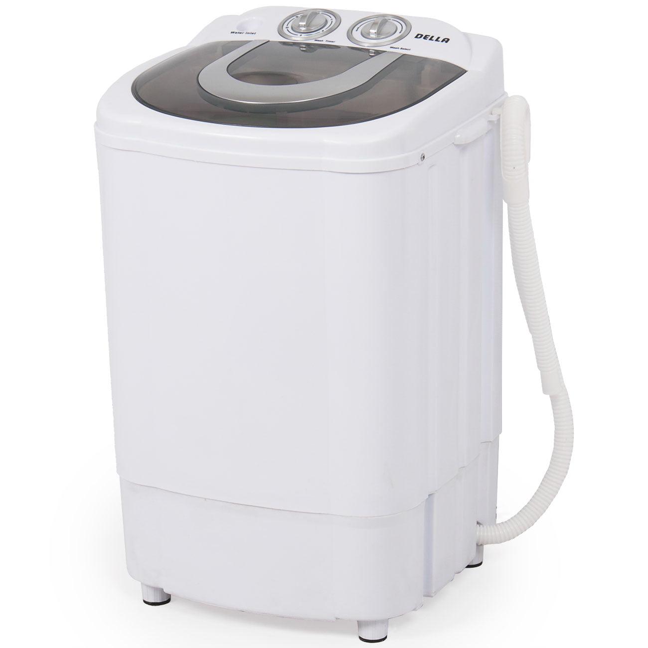 Della Mini Portable Washing Machine & Spin Wash 8.8 Lbs Capacity Compact Laundry Washer