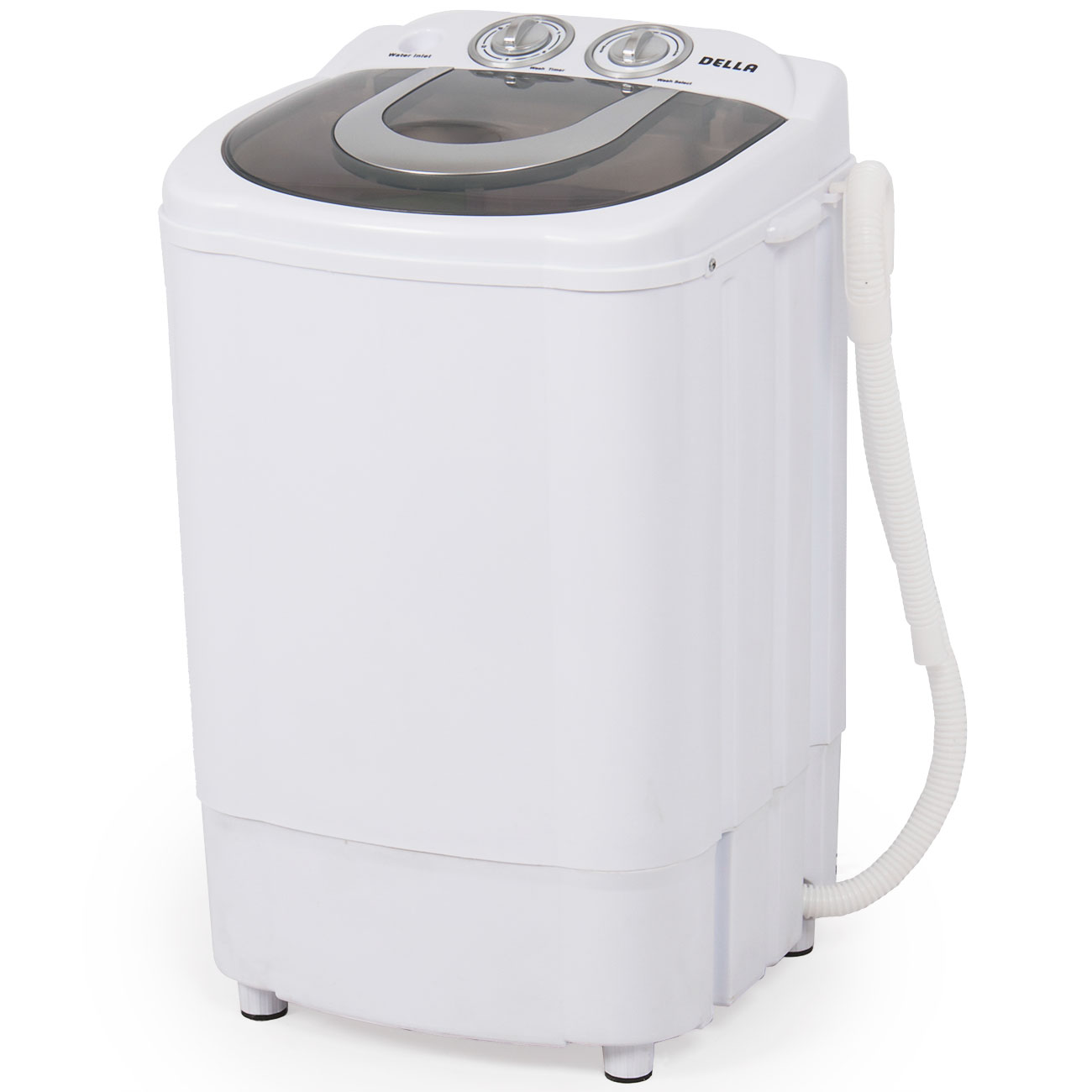 Della Mini Portable Washing Machine U0026 Spin Wash 8.8 Lbs Capacity Compact Laundry  Washer For Clothes