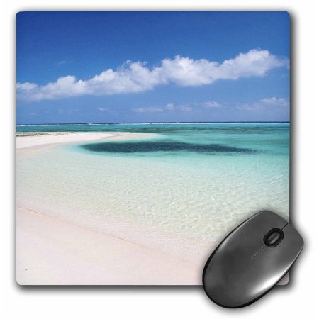 3dRose Sandy Point, Little Cayman, Cayman Islands, Caribbean-CA42 GJO0063 - Greg Johnston, Mouse Pad, 8 by 8 inches