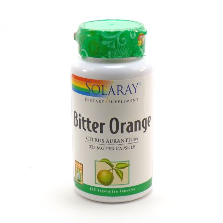 Yorkshire Bitter - Bitter Orange Herb 525 mg By Solaray - 100  Capsules