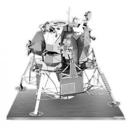 Metal Earth 3D Laser Models Spacecraft Set of 2 - Mars Rover, Apollo Lunar Module - image 3 of 3