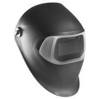 3M 37230 Speedglas 07-0012-10BL Welding Helmet 100 Black, Auto-Darkening Filter