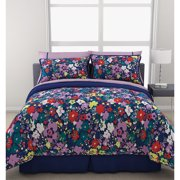 Ditsy Floral Comforter Set With Sheets,