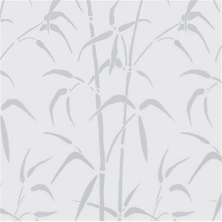26 x 59 in. Static Cling Window Film, Bamboo