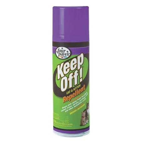 (Four Paws Keep Off Indoor/Outdoor Cat Repellent)