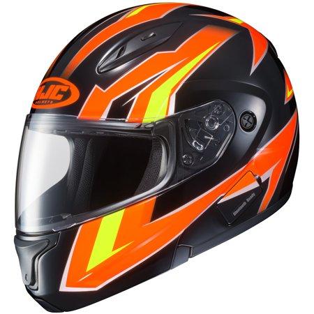HJC CL-Max II Ridge Helmet Bright Orange (MC-6) (Orange, Medium)