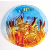 "Plate-Elijah/Chariots Of Fire (9"")-Glass"