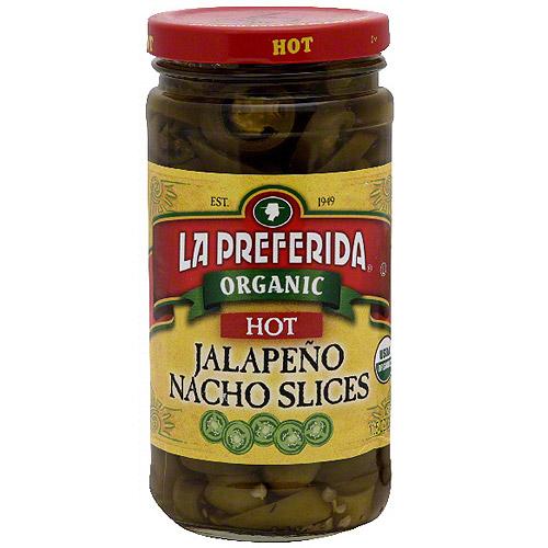 La Preferida Hot Jalapeno Nacho Slices, 11.5 oz (Pack of 12)
