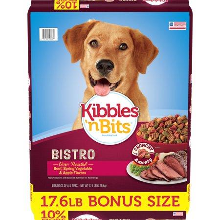 Kibbles 'n Bits Bistro Oven Roasted Beef Flavor Dog Food,