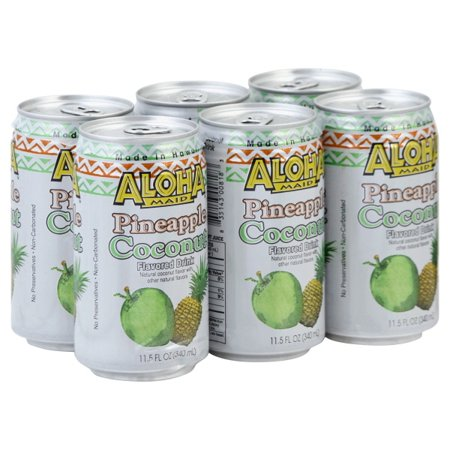 Aloha Maid Natural Drink, 11.5 Ounce (Pack of 24) Choose Your Flavor (Guava Drink)