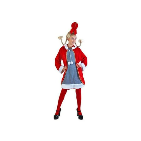 Adult Cindy Lou Costume - Cindy Lou Who Costume For Adults