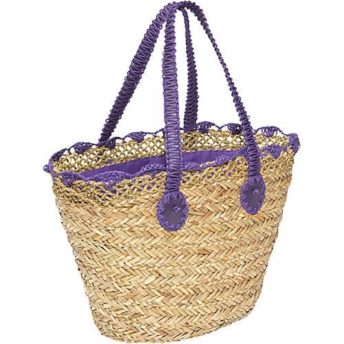 San Diego Hat Seagrass/Paper Beach Bag