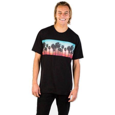 Neff Mens Palm Stripe Short Sleeve T-Shirt 16P26004 (Neff Stripe)