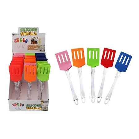 Diamond Visions 01-1355 Silicone Spatula Turner MultiPack Set in Assorted Colors (2