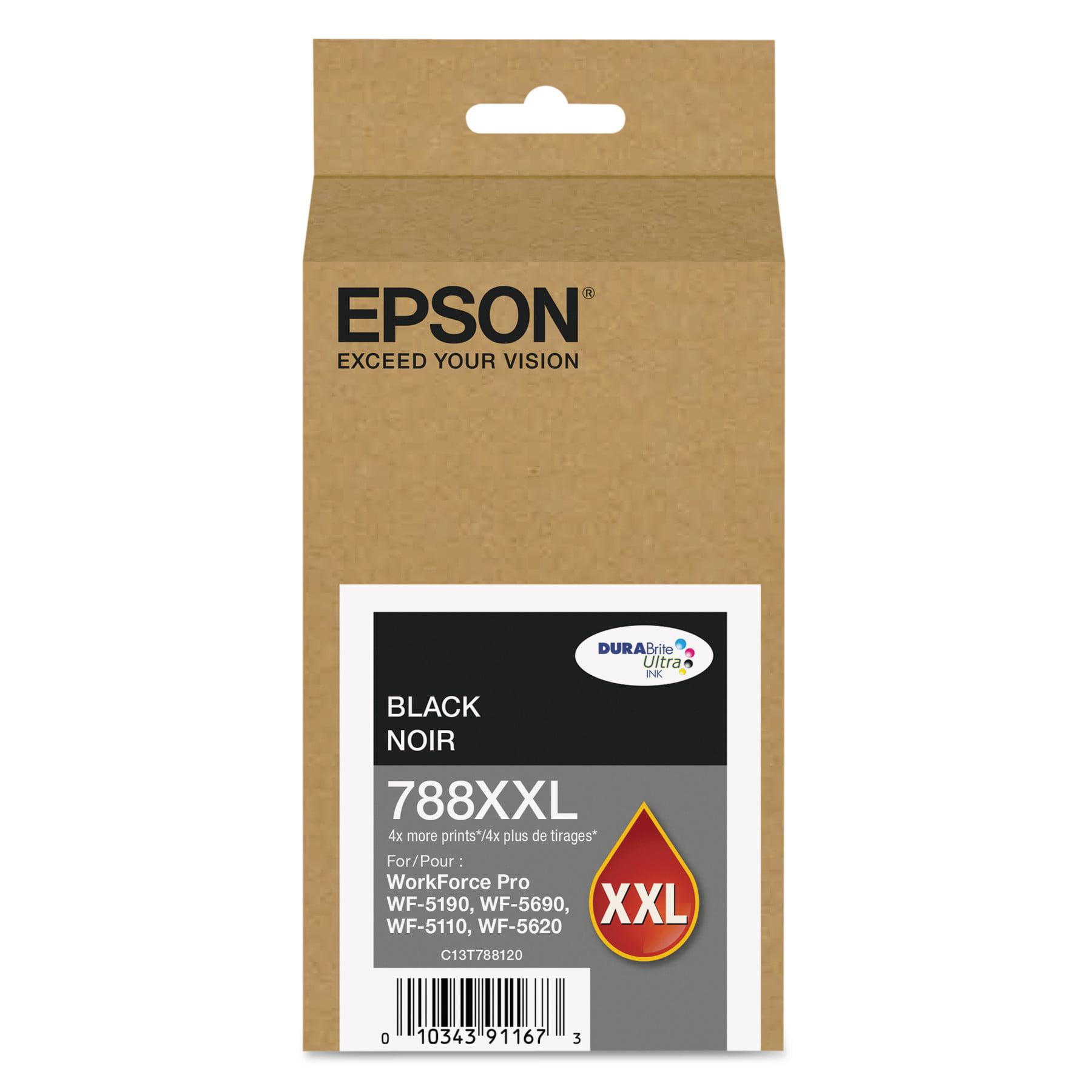 Epson T788XXL120 (788XXL) DURABrite Ultra XL PRO High-Yield Ink, Black by Epson