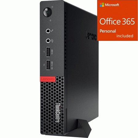 Lenovo ThinkCentre M710q 10MR003WUS Desktop Computer - Core  + Office 365 Bundle Lenovo ThinkCentre M710q 10MR003WUS Desktop Computer - Core  + Office 365 Bundle