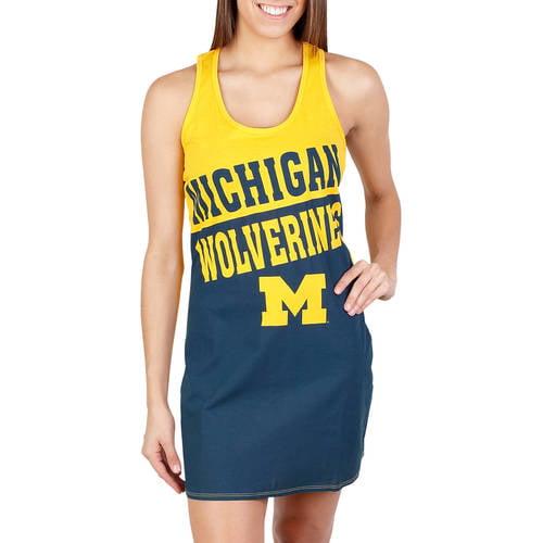 NCAA Michigan Shutout Ladies' Nightshirt