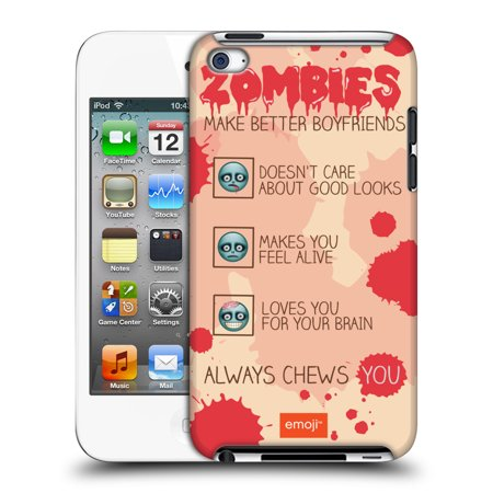 OFFICIAL EMOJI HALLOWEEN PARODIES HARD BACK CASE FOR APPLE IPOD TOUCH MP3 (Banda Sonora Halloween Mp3)