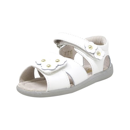 See Kai Run Infant Shoes (See Kai Run Olivia White Ankle-High Sandal -)