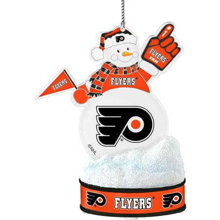 Topperscot by Boelter Brands NHL LED Snowman Ornament, Philadelphia Flyers
