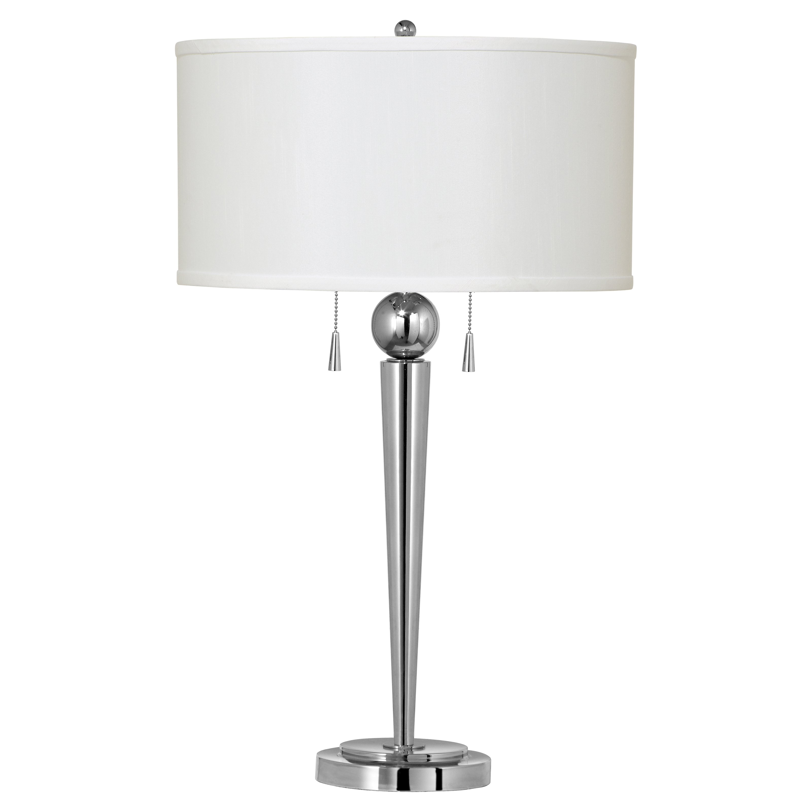 Cal Lighting BO-2007TB Messina Metal Table Lamp with Pull Chain Switch by CAL Lighting