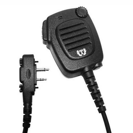 - Shoulder Speaker MIC for ICOM Radio IC-F11 F21 V8 V82 U82 A6 F3 F4 F3011 F4021
