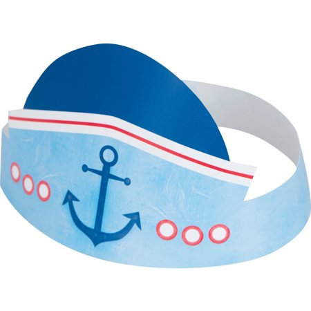Nautical Boys First Birthday Party Hats,