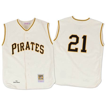Roberto Clemente Pittsburgh Pirates Mitchell & Ness Authentic MLB 1960 Jersey by