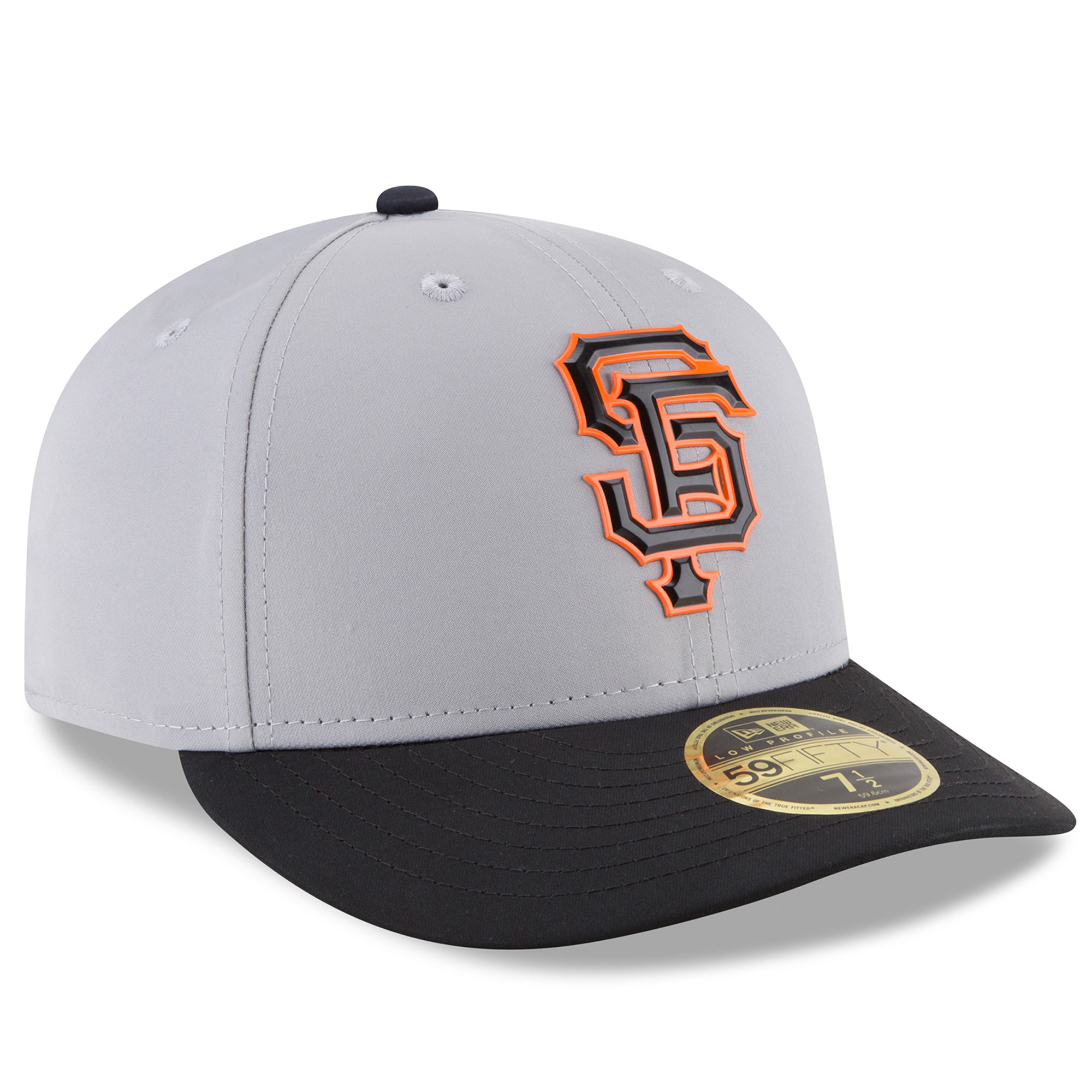newest collection 90e68 d2c03 San Francisco Giants New Era On-field Prolight Batting Practice Low Profile  59FIFTY Fitted Hat - Gray - Walmart.com