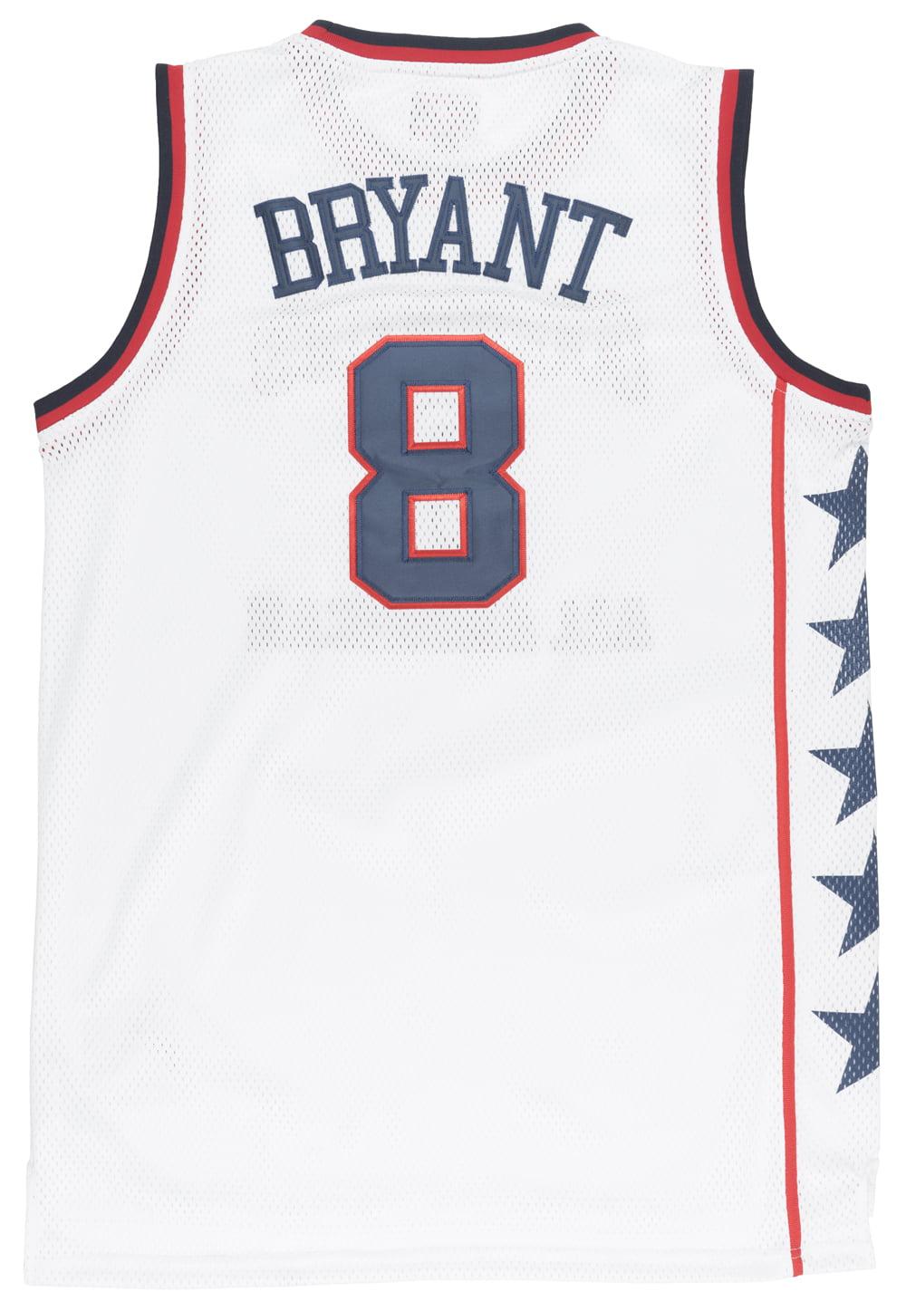 the latest e8555 18eb1 Kobe Bryant McDonalds All American Jersey Basketball Retro ...