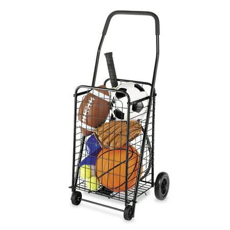 Whitmor Rolling Utility Cart - Whitmor 6307-1729-BLK-2 18.63