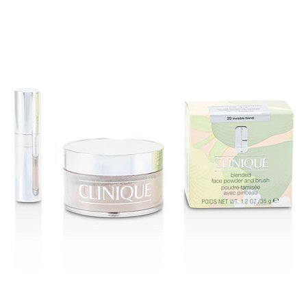 Clinique 16846258 By Clinique Blended Face Powder + Brush - No. 20 Invisible Blend -