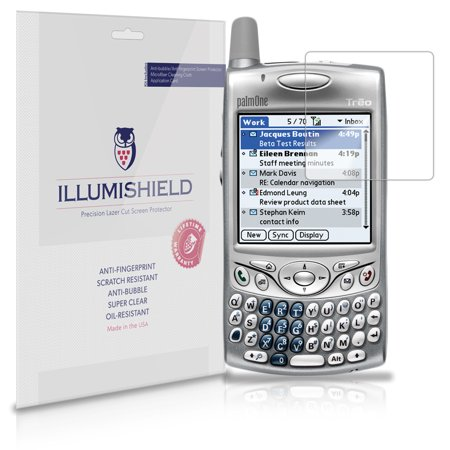 iLLumiShield Anti-Bubble Screen Protector 3x for Palm Treo 600 650 680 700 755p