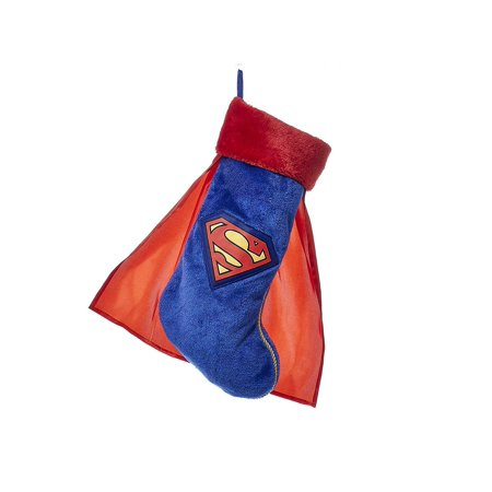 Monoprice Superman Plush Stocking With Cape | Holiday Novelties, Stocking Suffers, Toys, Games, - Gingerbread Man Stocking