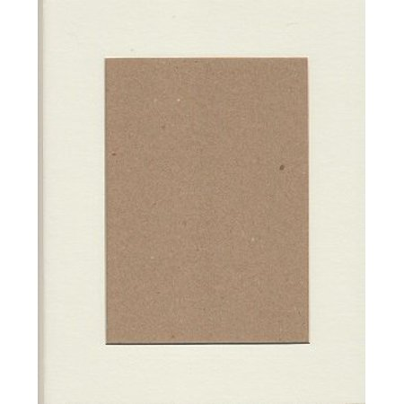 Mutt Mat - 16x20 White Picture Mats Mattes Matting with White Core Bevel Cut for 12x16 Pictures