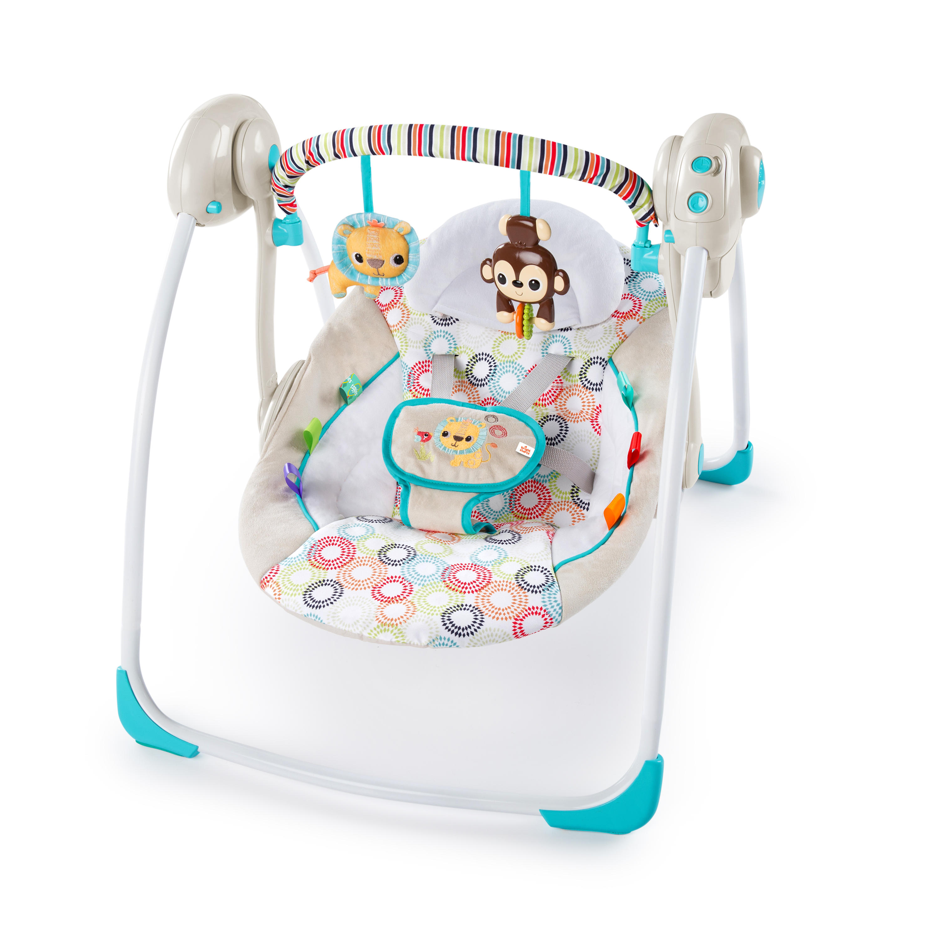Bright Starts Portable Swing - Petite Jungle