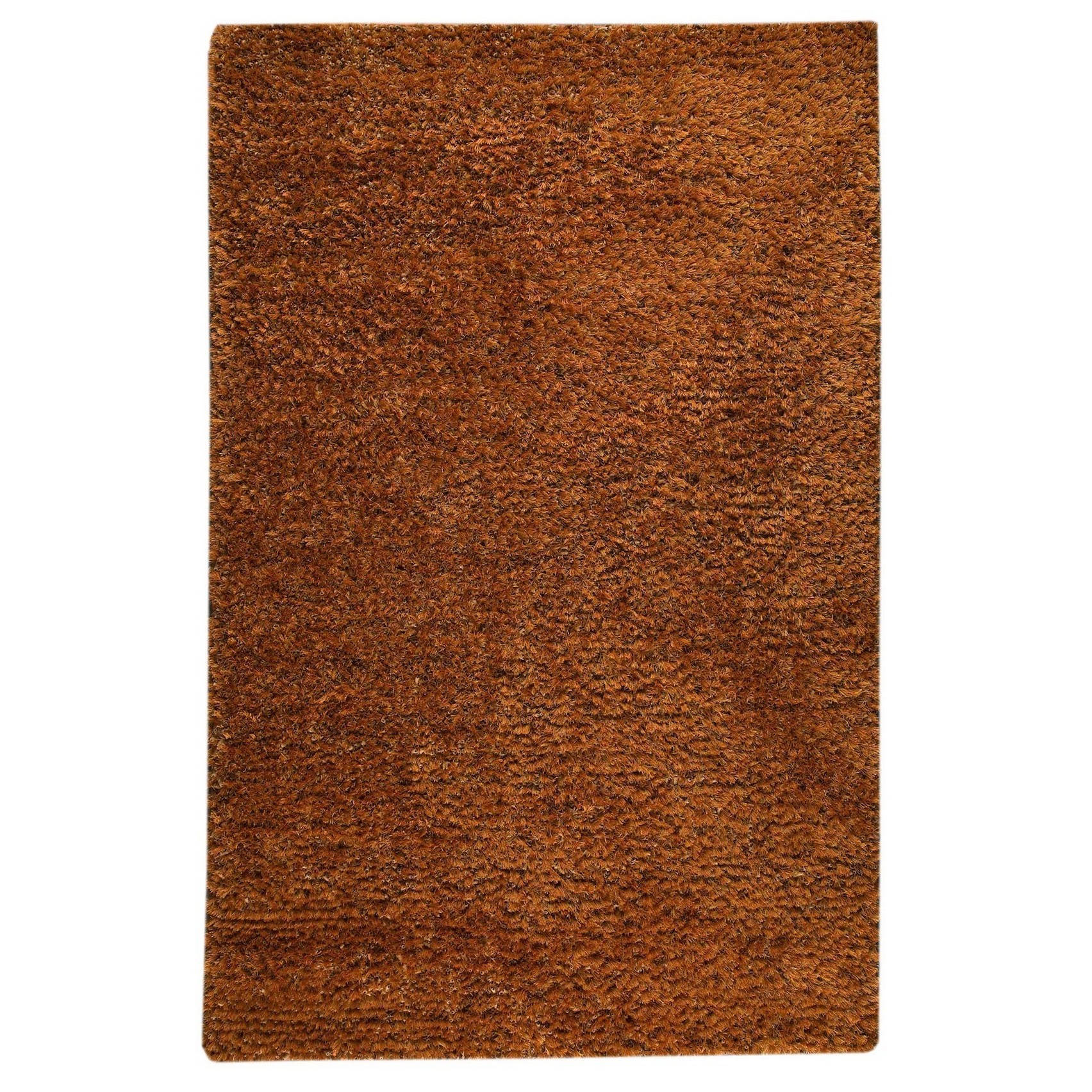 MA Trading M.A.Trading Hand-woven Malibu Orange Wool/ Polyester Rug (8' x 10') (India)