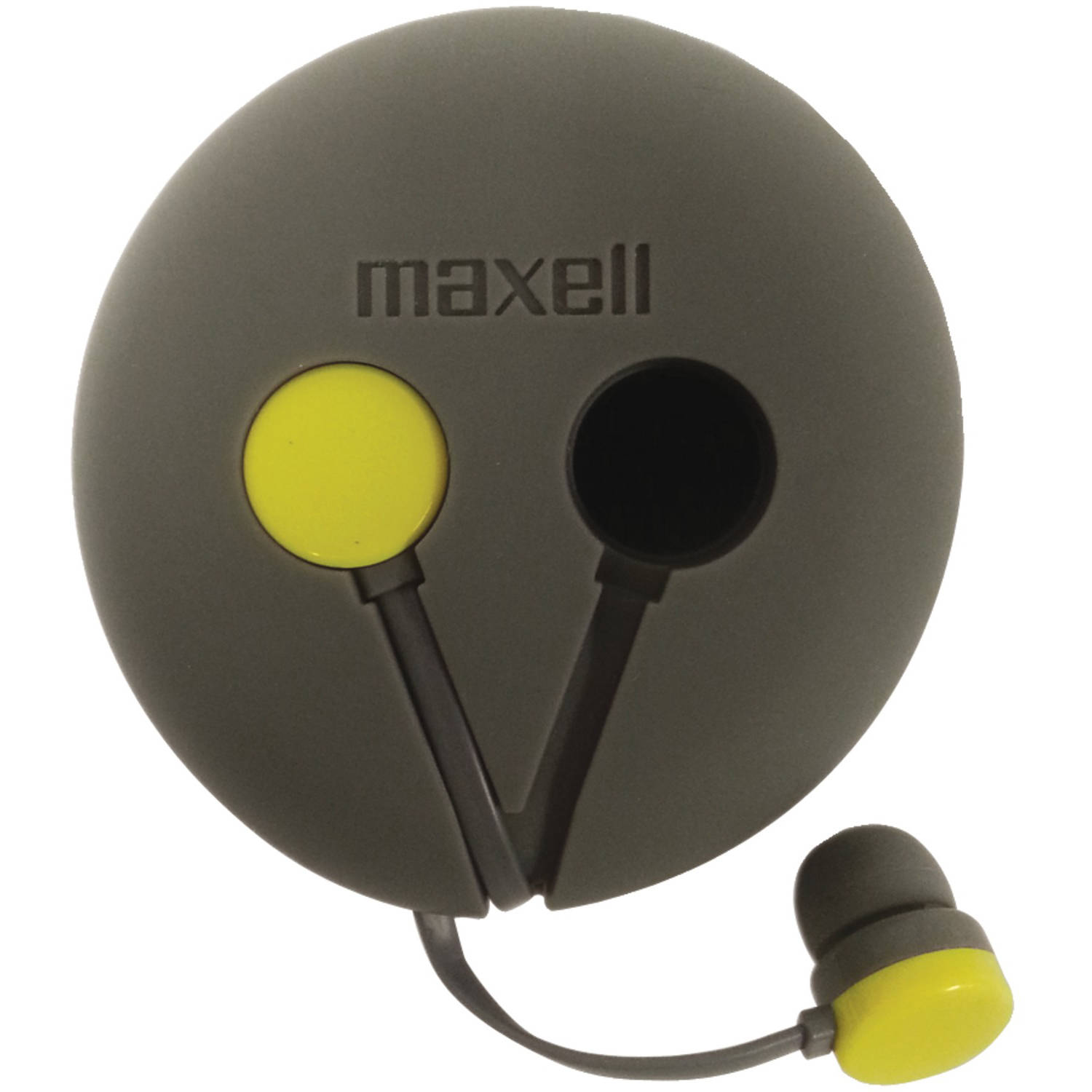 Maxell 190605 Wrap'd Earbuds with Case
