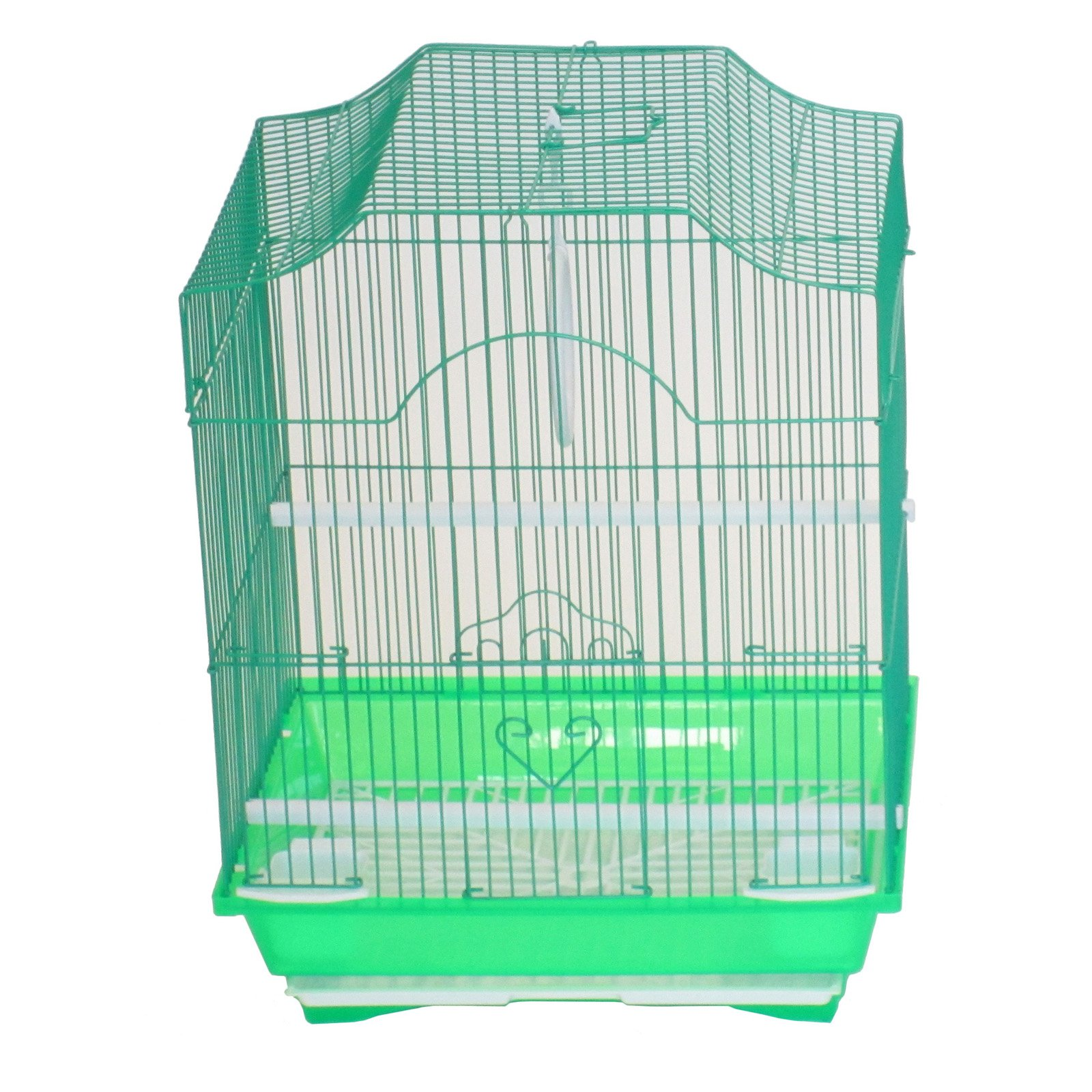 YML A1134GRN Cornerless Flat Top Cage, Small