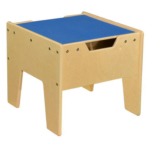 Contender Kids Rectangle Lego Table