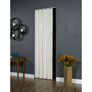 """Homestyles Plaza PVC Folding Door Fits 48""""wide x 96""""high White"""