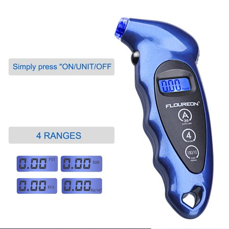 Digital Tire Pressure Gauge 150 PSI 4 Settings for Car Truck