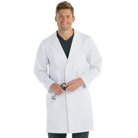 B1 Team Lab Coat for Men – Professional Full Length, Long Sleeve