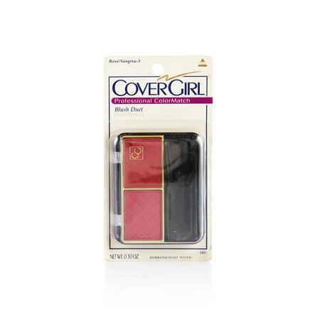 Cover Girl Professional Color Match Blush Duet Rose/Sangria](Rose Sangria)