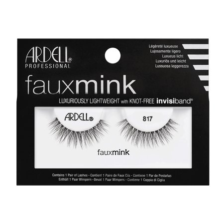 3111c3c3475 ARDELL Faux Mink Lashes - 817 Black (3 Pack) - image 1 of 1 ...