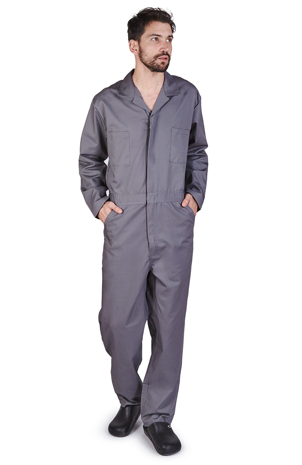 M&M Scrubs FREE SHIPPING Mens Long Sleeve Coverall by