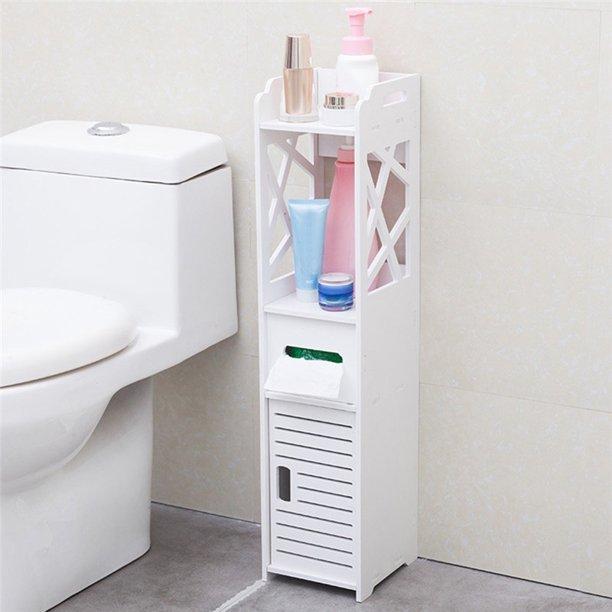Jcxagr Bathroom Storage Corner Floor Cabinet Toilet Vanity Cabinet Bath Sink Organizer Walmart Com Walmart Com