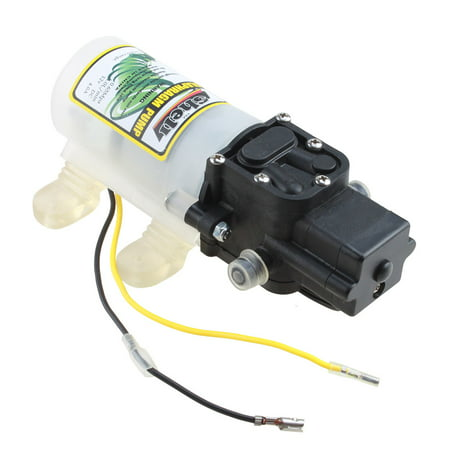 Agptek Automatic High Pressure Diaphragm Water Pump Dc 12V 3 6L Min For General Industry Vehicles Agricultural Boat