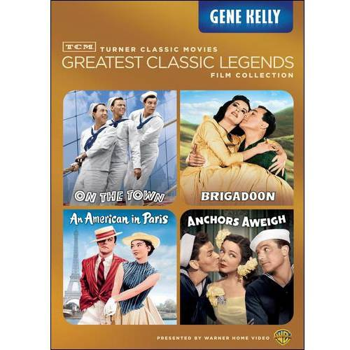 TCM Greatest Classic Legends Film Collection: Gene Kelley - On The Town / Brigadoon / An American In Paris / Anchors Aweigh